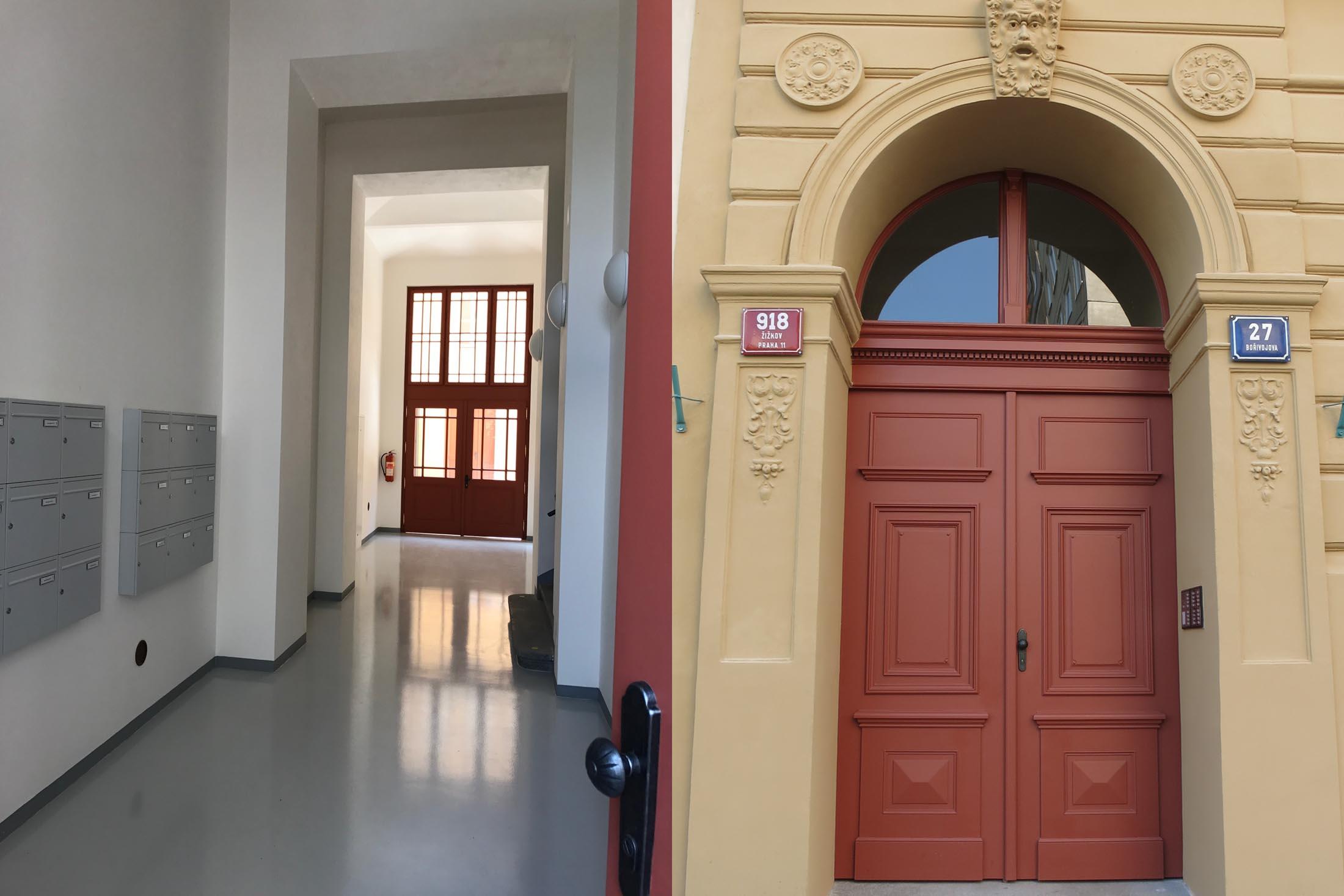 Bor Vstup dvere